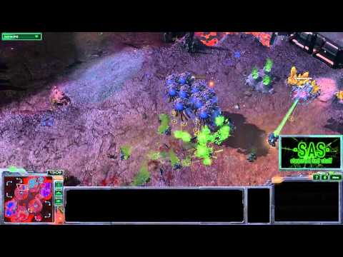 Epic Battle: Baneling Drop Counter - Starcraft 2