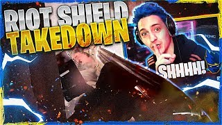 SNEAKY RIOT SHIELD TAKEDOWN! - Call of Duty: Modern Warfare
