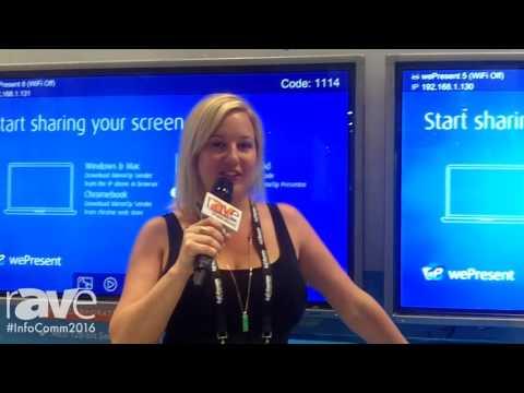 InfoComm 2016: wePresent Introduces InfoComm16 Product Lineup