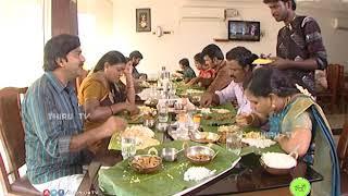 NATHASWARAM|TAMIL SERIAL|COMEDY|SHANTHI & VEL IN HOTEL