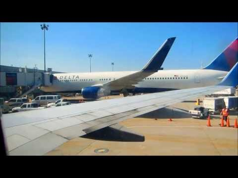 Delta Airlines flight 1210 with service to Boston from Salt Lake City. Boeing 737-800 If you love roller coasters/Six flags please check out my Six Flags New England Music Video http://www.youtube...