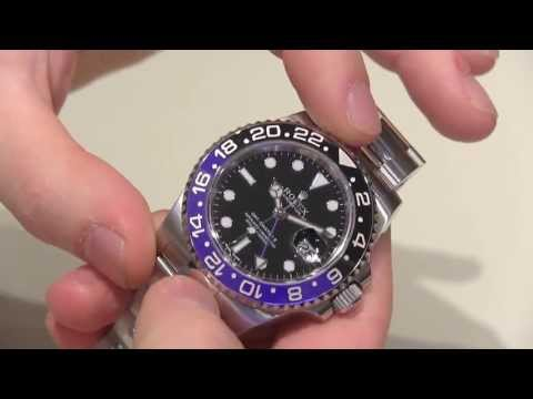 Rolex GMT Master II Day/Night Watch With Black And Blue Bezel Hands-On