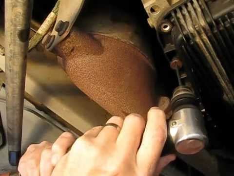 Jaguar Xk8 Transmission Fluid Pan Change Youtube