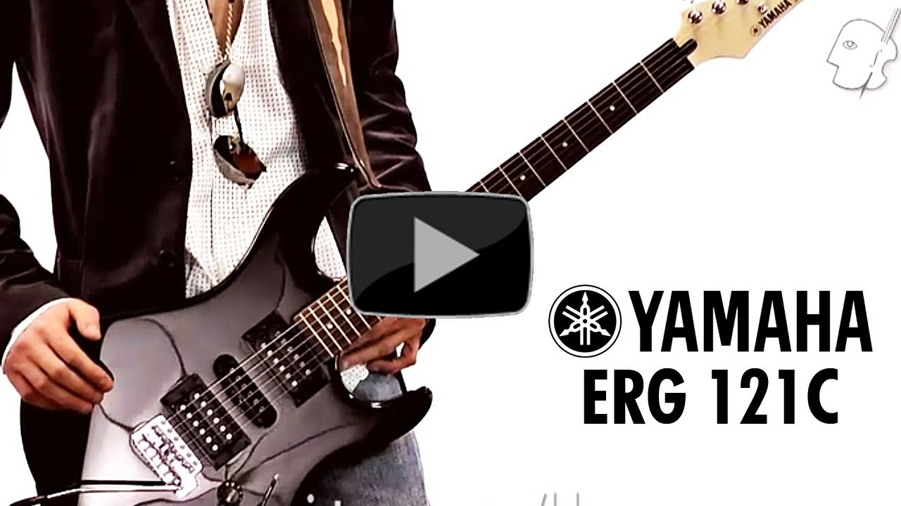 guitarra electrica yamaha erg 121c youtube. Black Bedroom Furniture Sets. Home Design Ideas