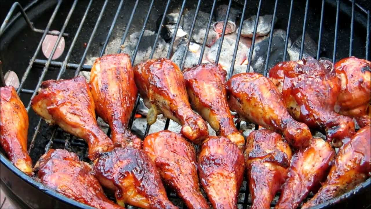 How to make BBQ Chicken - Easy Basic BBQ Grilled Chicken ...