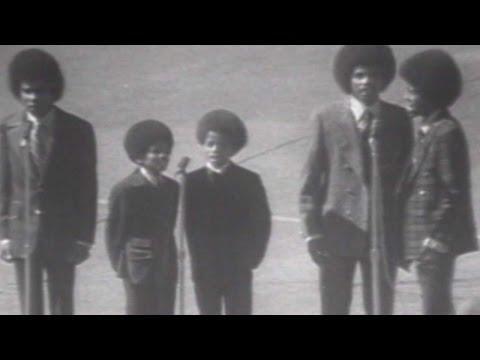 1970 WS Gm1: The Jackson 5 perform national anthem