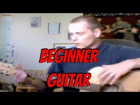 Beginner Guitar Method (Learning Left Handed - Video 1 ... Basic Chords)