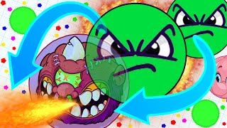 Agar.io - EPIC SOLO GAMEPLAY And LEGENDARY TEAM (Destroying Teams Solo in Agar.io)