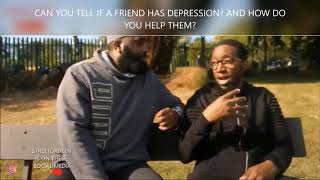 HOW CAN I TELL IF MY FRIEND HAS DEPRESSION? AND HOW CAN I HELP THEM?