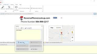 Reverse Phone Lookup scraping using Webharvy | Keyword scraping