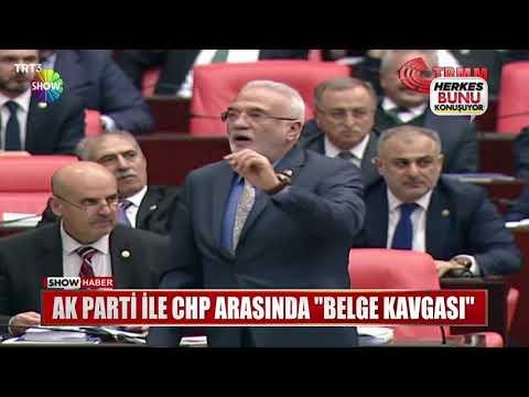"""Ak Parti ile CHP arasında """"Belge Kavgası"""""""