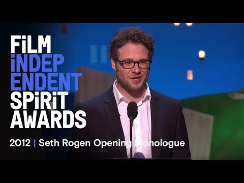 Host Seth Rogen Kicks off the 2012 Spirit Awards