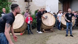 """Festa di Sant'Antuono 2019 a Macerata Campania - Prove La piccola compagnia de """"I punto esclamativo"""""""