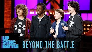 The Stranger Things Cast Go Beyond the Battle | Lip Sync Battle