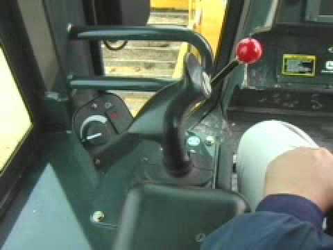 John Deere Hitachi Dozer 750J-850J Controls