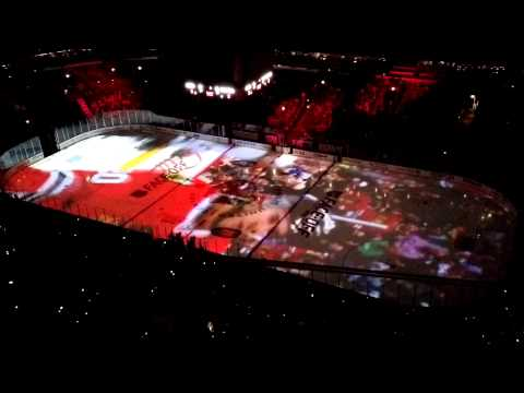 Chicago Blackhawks Awesome On-Ice Projection