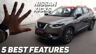 FIVE BEST FEATURES | NISSAN KICKS | Auto Encyclo | Hindi