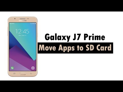Samsung Galaxy J7 Prime 2017 - How to Move Apps to the SD Card