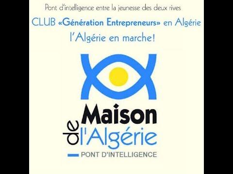 Maison de l'Algérie sur France Maghreb 2 le lundi 26 mai à 22h10