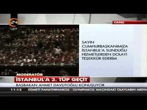 İstanbul İçin Mega proje açıklanıyor.3 Katlı Tüp Geçit Full 28 02 2015