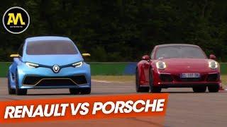 Renault Zoé E-Sport Concept VS Porsche 911 Carrera GTS
