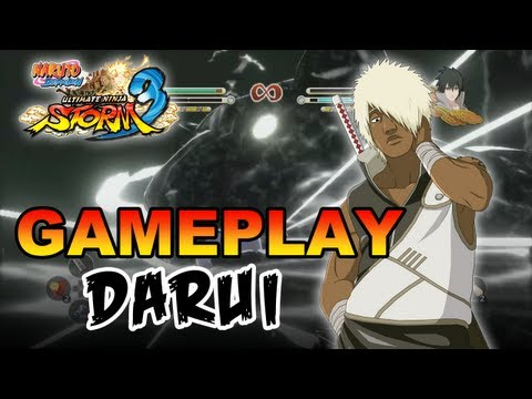 Naruto Ultimate Ninja Storm 3 `Darui` Trailer