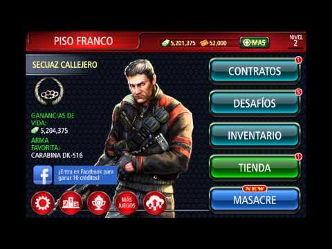 HACK CONTRACT KILLER 2 VERSION 2.0.1 NO JAILBREAK REQUIRED (REQUERIDO ...
