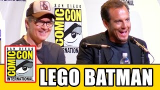 LEGO BATMAN MOVIE Comic Con Panel - Will Arnett & Chris McKay