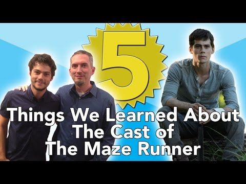 5 Things We Learned About The Maze Runner Cast