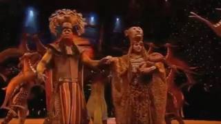 Circle Of Life  -  The Lion King Musical . HD