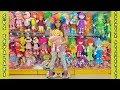 Yeni Oda Turu için Süs Eşyaları ve Oyuncak Alışveriş VLOG Eğlenceli Çocuk Videosu Funny Kids Videos