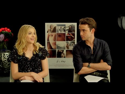 Fan Questions with Chloë Grace Moretz and Jamie Blackley - Favorite Moment from If I Stay