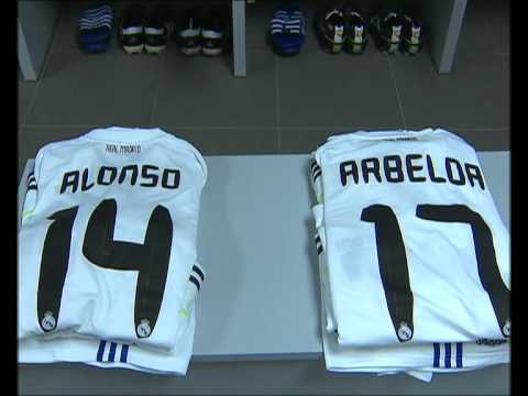 Barcelona-Real Madrid: imagenes exclusivas del vestuario del Real Madrid