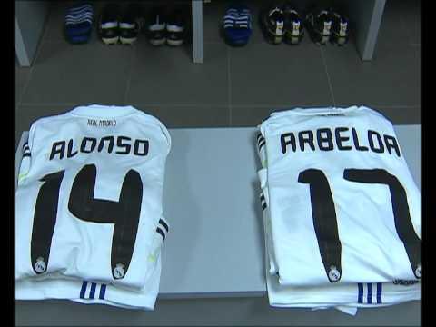 Barcelona-Real Madrid: imagenes exclusivas del vestuario del Real Madrid