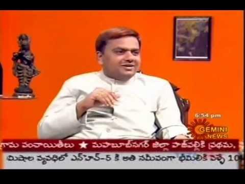 N N Murthy speaks on Sparrows at Gemini TV (Interview Part-2)