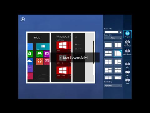 W8 Apps recomendadas - Fotor (retoca imagenes y haz collages)