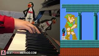 Zelda 2: The Adventure of Link - Temple/Palace Theme (Piano Cover by Amosdoll)