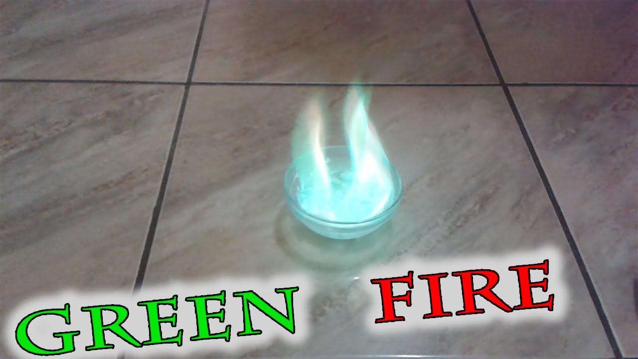 Как сделать огонь на воде