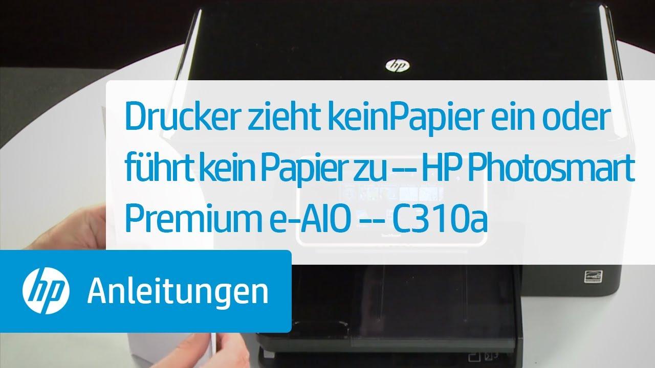 Drucker zieht keinPapier ein oder führt kein Papier zu ...