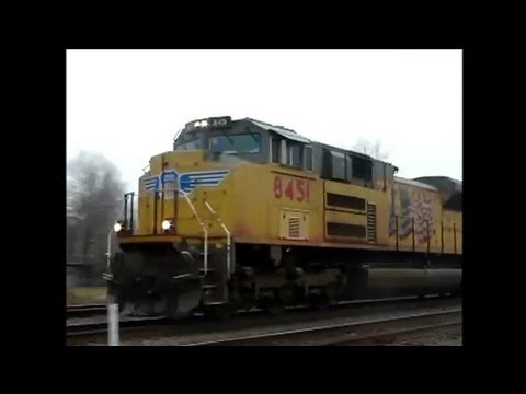 Railfanning in Bald Knob AR 3-22-13 with Daniel Hipp