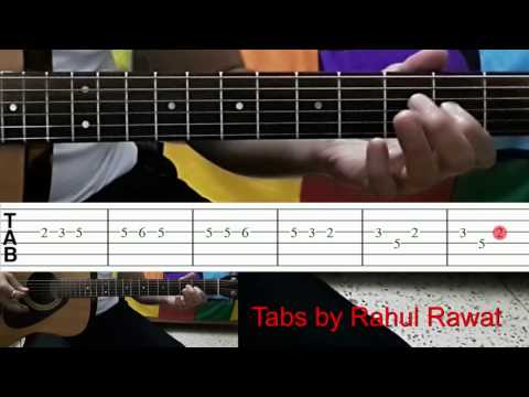 Anamika Serial Theme (Sony TV/Channel) Guitar Tutorial With Tabs by Rahul Rawat