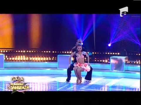 Romania Danseaza - Adrian si Tatiana - SALSA, SEMIFINALA