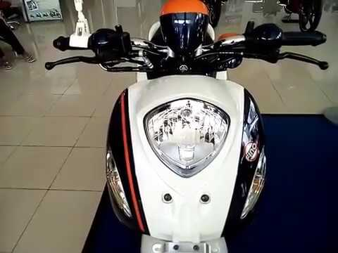 More Details Yamaha Fino 125 White Sporty