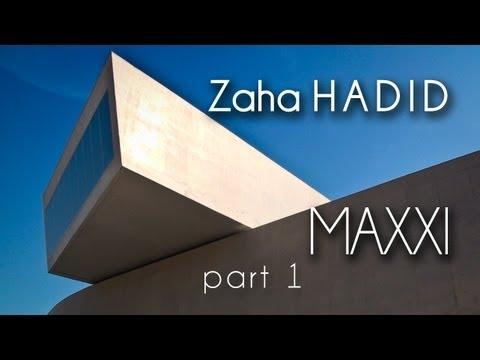 [HD] (1) Zaha HADID - (2009) - MAXXI Museum Art XXI (Roma - Italy) - Part.1