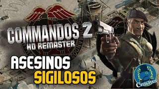 DAS BOOT, ASESINOS SIGILOSOS - Commandos 2 HD Remaster - Gameplay en Español