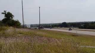 Demethanizer on Oklahoma Highway 33, west of Cushing