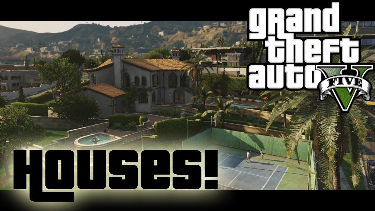 GTA 5 Protagonist Houses GTA5 Talk Ep 31 YouTube