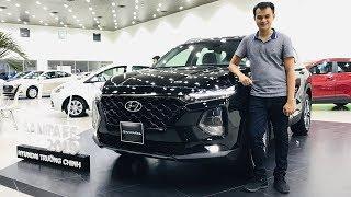 Xem chi tiết Hyundai Santa Fe 2019 trưng bày tại Việt Nam - Hàng ghế 3 rất tốt