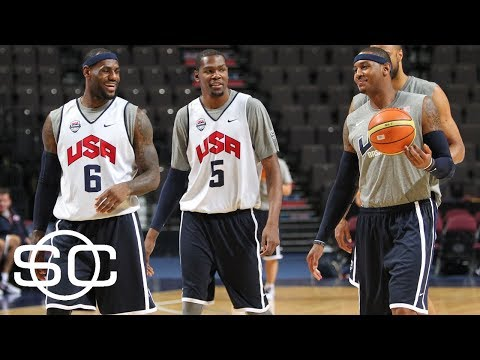 Lebron James Plays In Pickup Game With Kevin Durant And