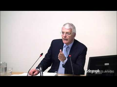 John Major at Leveson: Rupert Murdoch told me to change policy on Europe